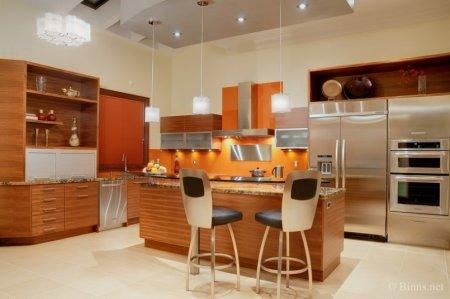 Шикарная мебель для кухни фото