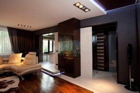 Планировка гостиной дома