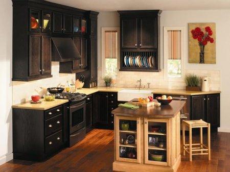 Интерьер удобной кухни. Способы расстановки элементов