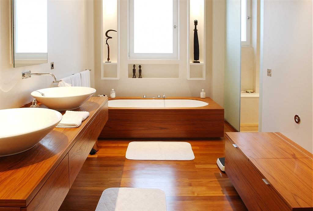 материалы для обустройства пола в ванной комнате