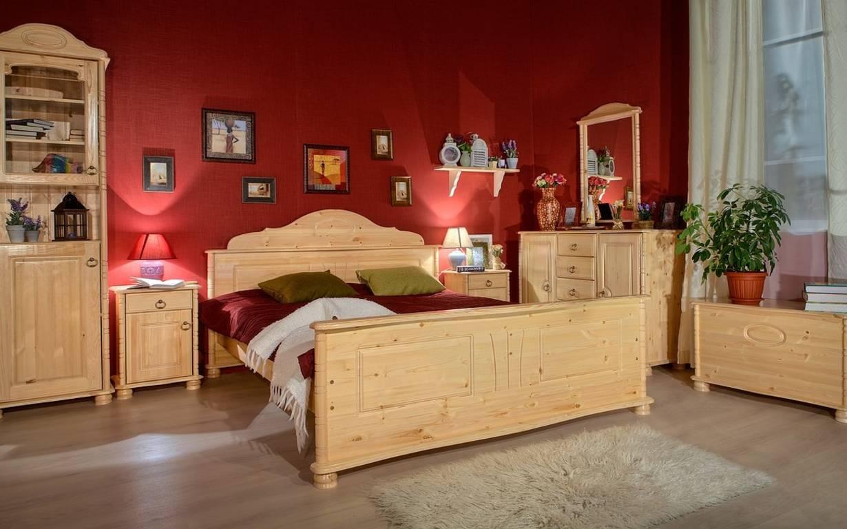 мебельные комплекты в интерьере спальной