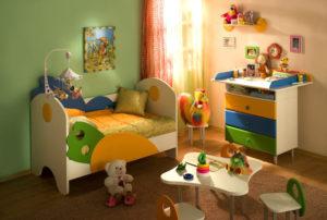 Как выбрать мебель для детской малышу 3 года