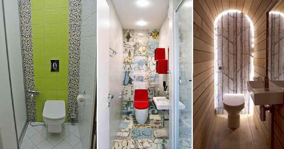 Шикарный дизайн туалета фото