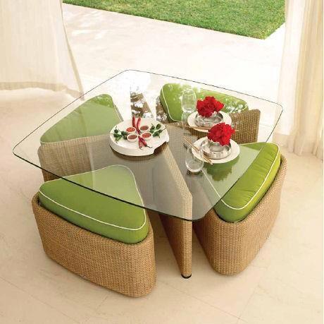 Оригинальные столики в интерьере с фото