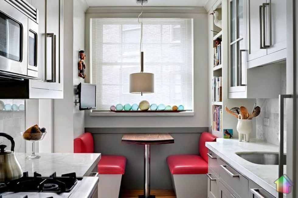 Выбор дивана для кухни