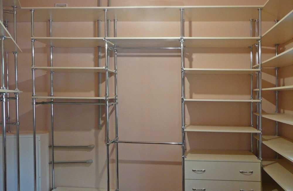 Виды гардеробных комнат с фото, идеи для разного типа гардер.