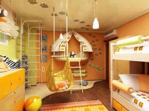 Дизайн и планирование детской комнаты