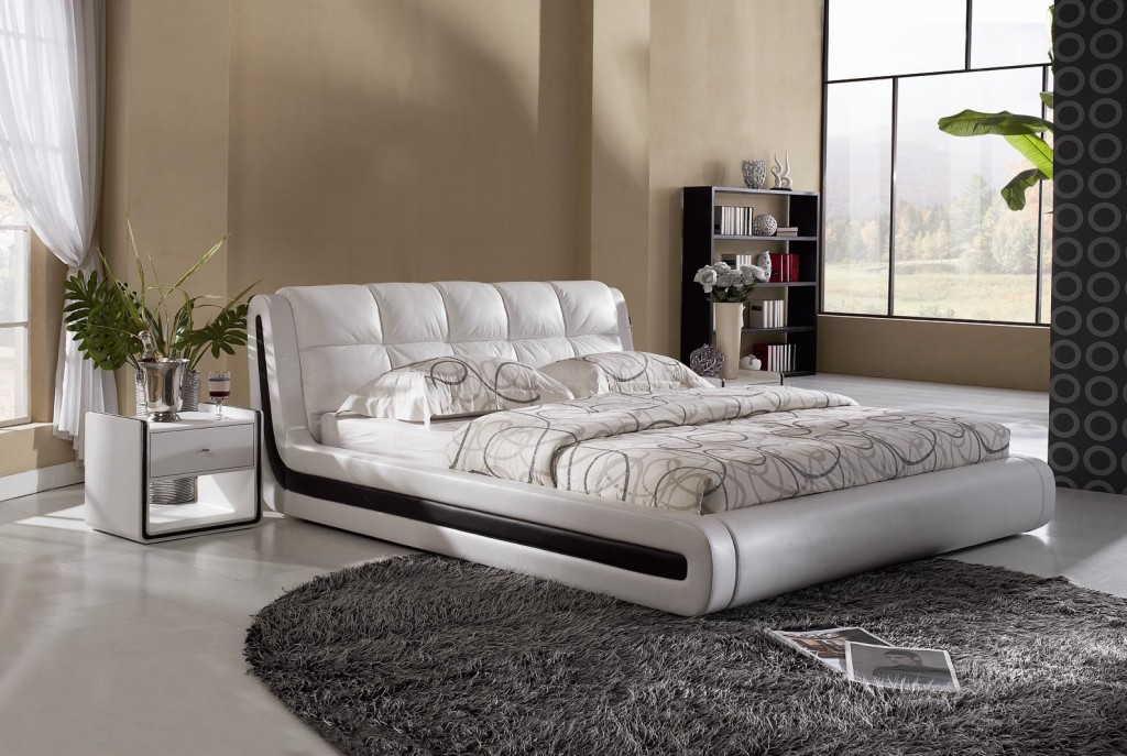 выбор двухспальной кровати фото