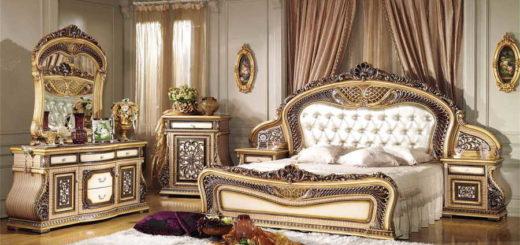 выбор двухспальной кровати для спальной