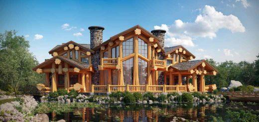 Строительство дома из древесины