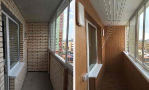 Отделка балкона и лоджии стеновыми панелями
