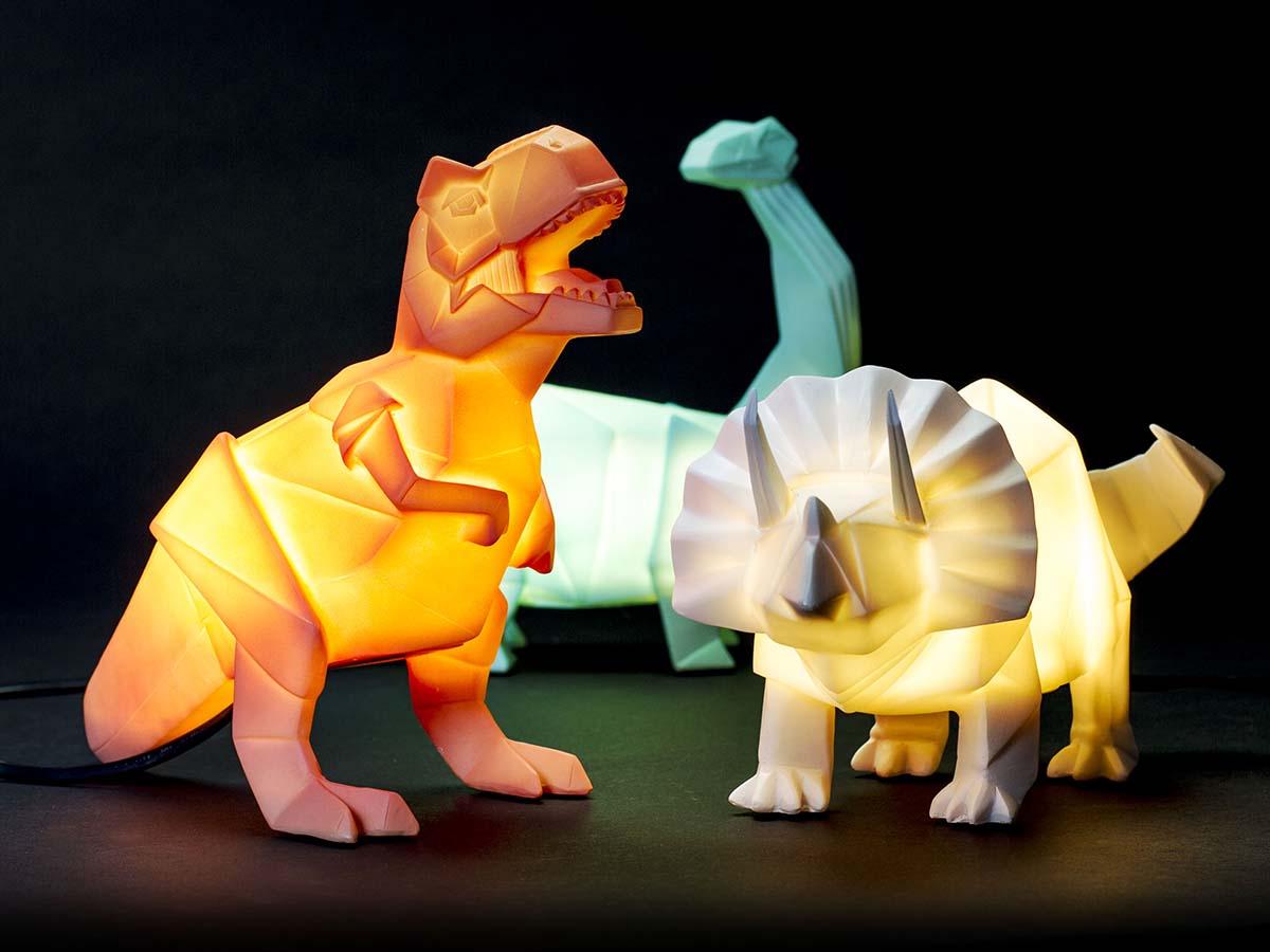 лампы динозавры