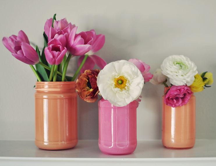 вазы в эко-стиле как декоративное украшение интерьера