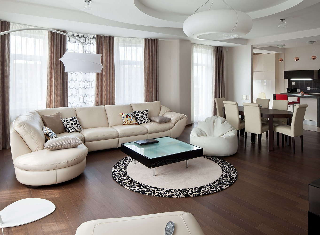 дизайн модной квартиры