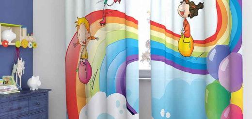 дизайн детских штор