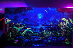 светящаяся краска для стен
