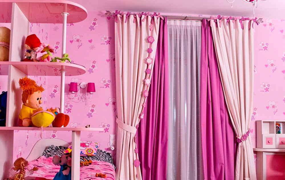 Выбор штор в детскую комнату