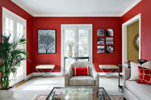 красочный интерьер дома