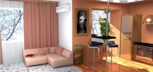 Перепланировка комнат в квартире
