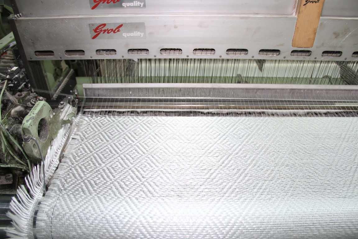 Как ткут стеклообои