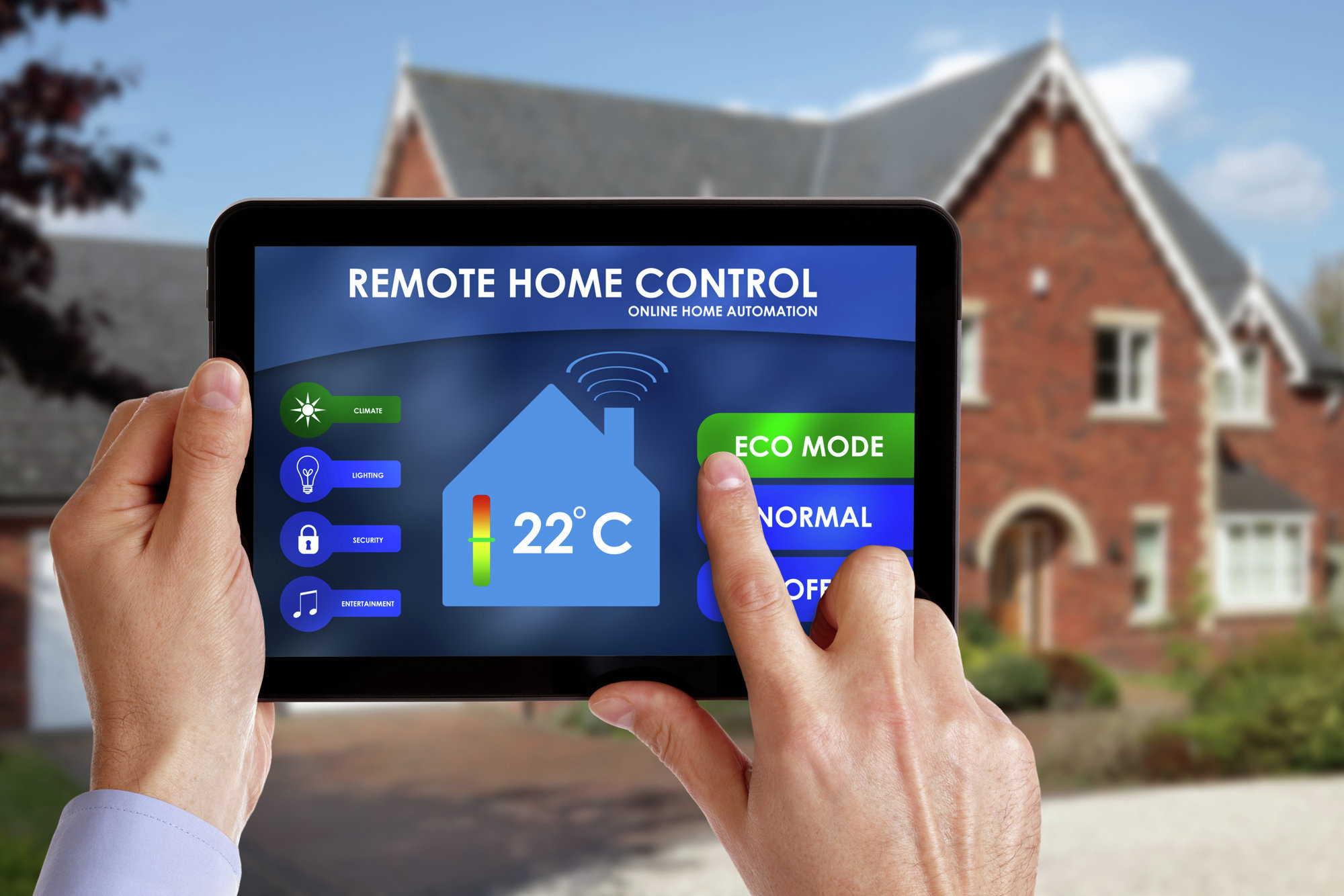 элементы контроля системы умный дом
