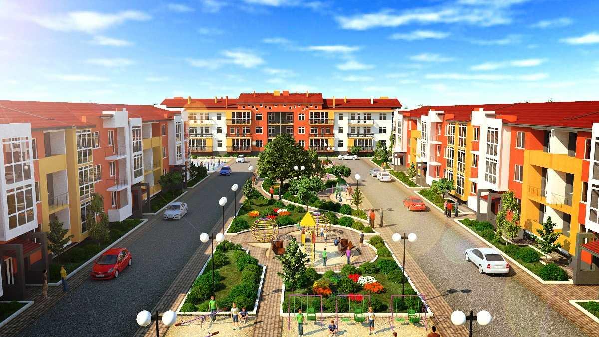 квартиры в жилых комплексах