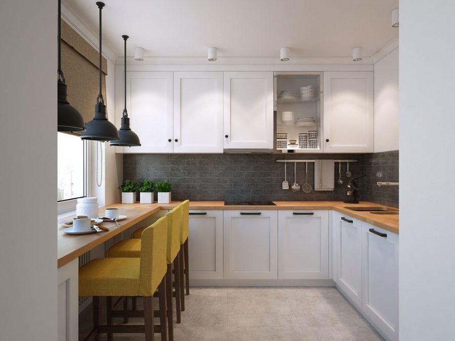 Интерьер кухни 10 кв м секреты удачного дизайна 116