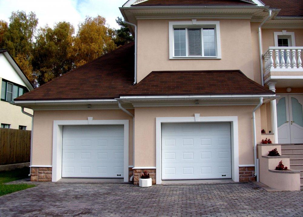 гаражные двери фото