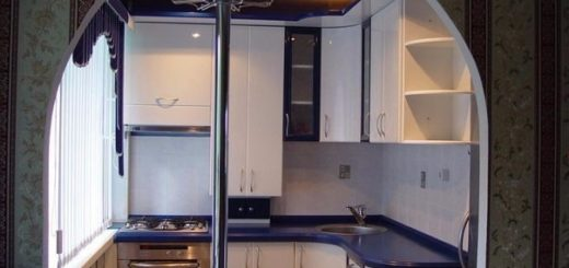 Изящный дизайн ОЧЕНЬ маленькой кухни