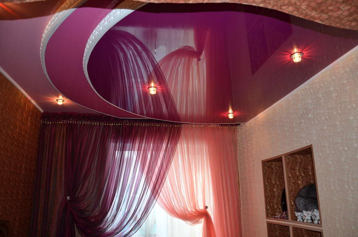 Шикарная ткань для подвесного потолка