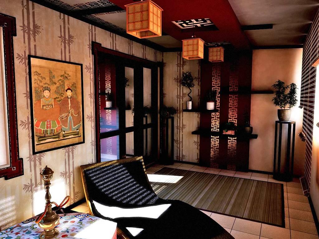 китайский стиль интерьера в квартире