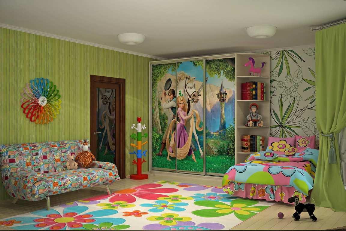 Сказочно красивые двери для детской комнаты
