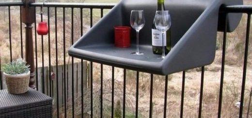 навесная полка для балкона