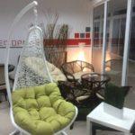 подвесное кресло в дизайне интерьера