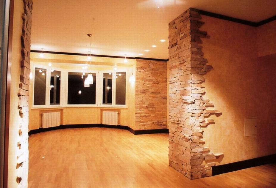 реставрация стен в доме