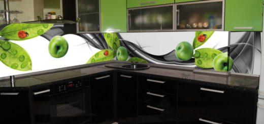 скинали в интерьере кухни