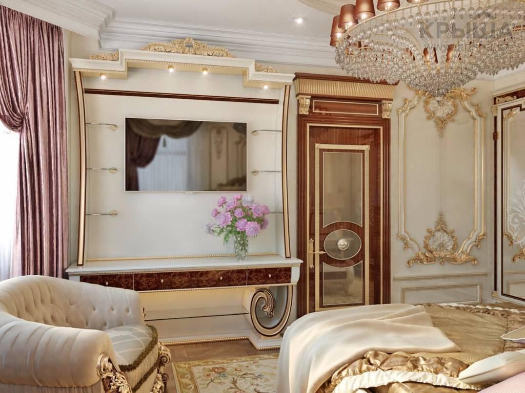 Классика в дизайне интерьера спальной