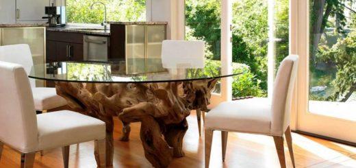 Обеденный стол в интерьере