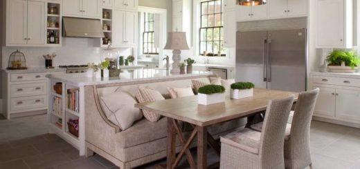 Кухонные уголки в интерьере