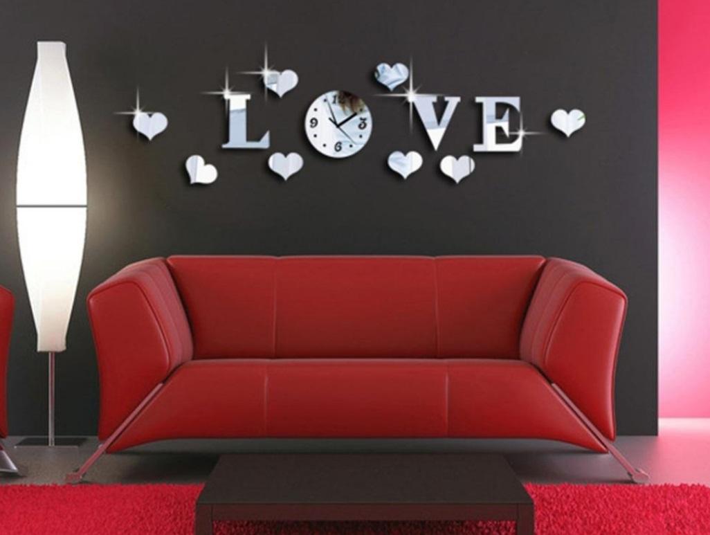 Декоративные часы в интерьере квартиры фото