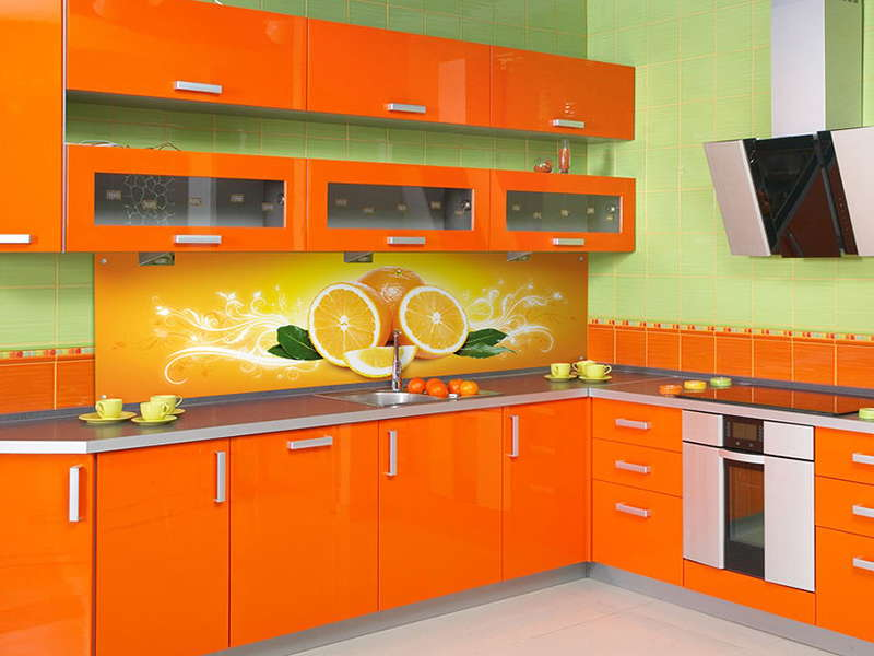 оригинальный дизайн современной кухни