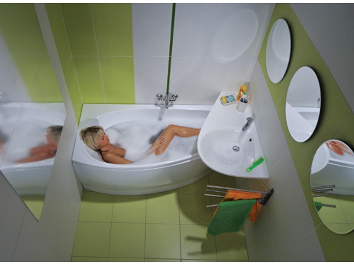 дизайн интерьера маленькой ванной