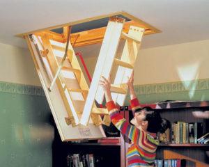 Критерии выбора лестницы трансформера