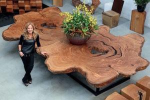 Мебель из калифорнийской секвои