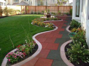 Из чего делать дорожки в саду