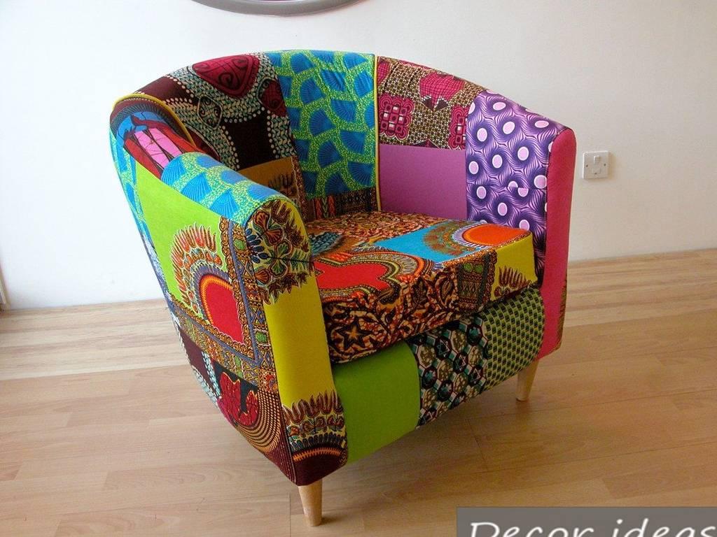 Мягкое кресло из старой ванны