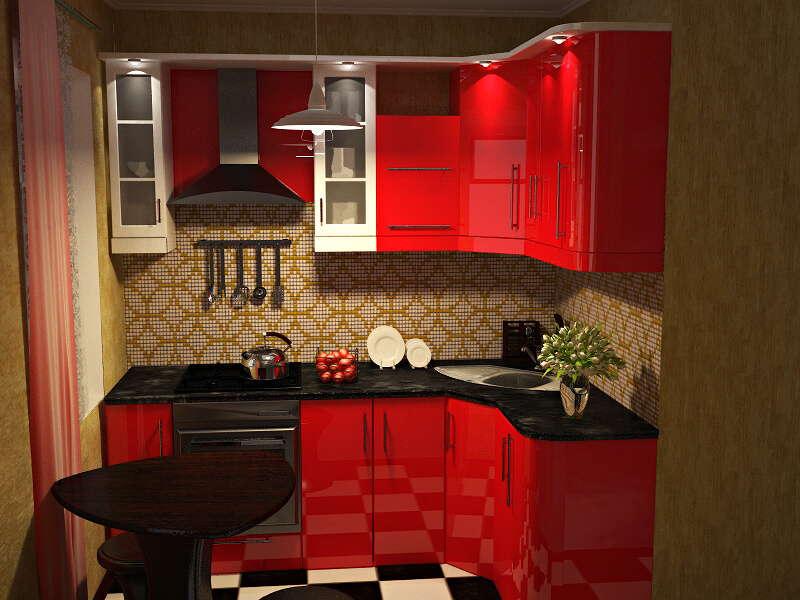 малогабаритные кухни фото