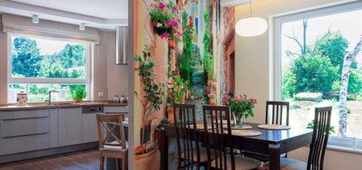 Фото дизайн 8-метровой кухни