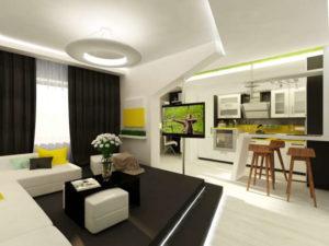 дизайн проект квартиры в хрущевке фото