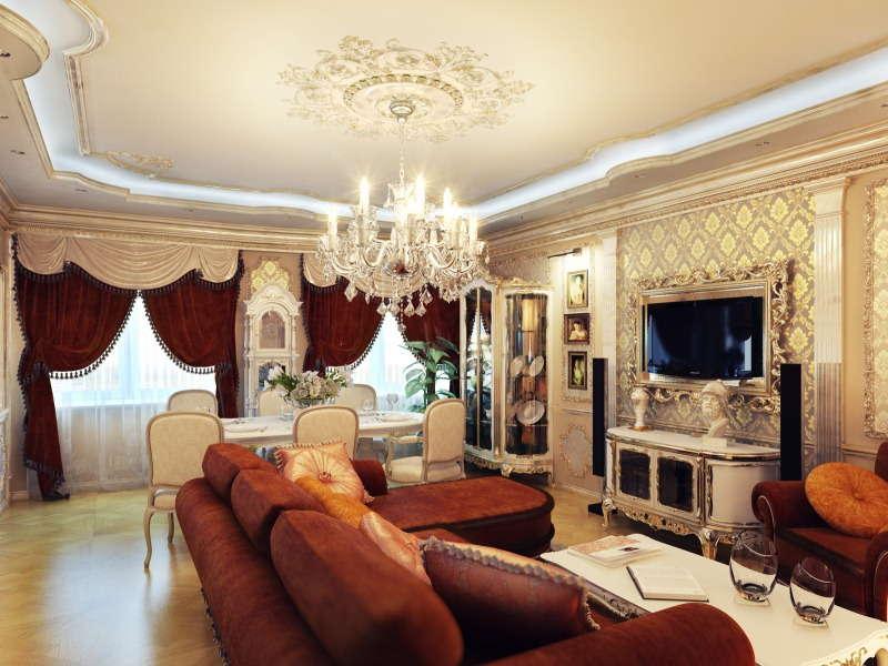 классическое оформление квартиры